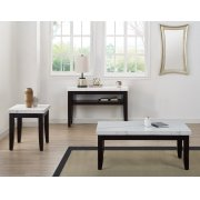 """Francis Sofa Entertainment Table, 48""""x18""""x30"""" 55mm Thick Product Image"""