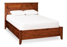 Shenandoah Bed with Under-Bed Storage, Character Cherry (Specify Stain Choice), Shenandoah Bed with Under-Bed Storage, Queen, Character Cherry