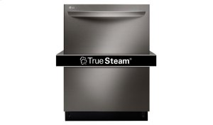 LG Black Stainless Steel Series Top Control Dishwasher with TrueSteam® Product Image