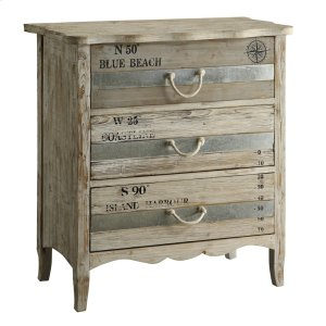 CRESTVIEW COLLECTIONSGrand Isle 3 Drawer Chest
