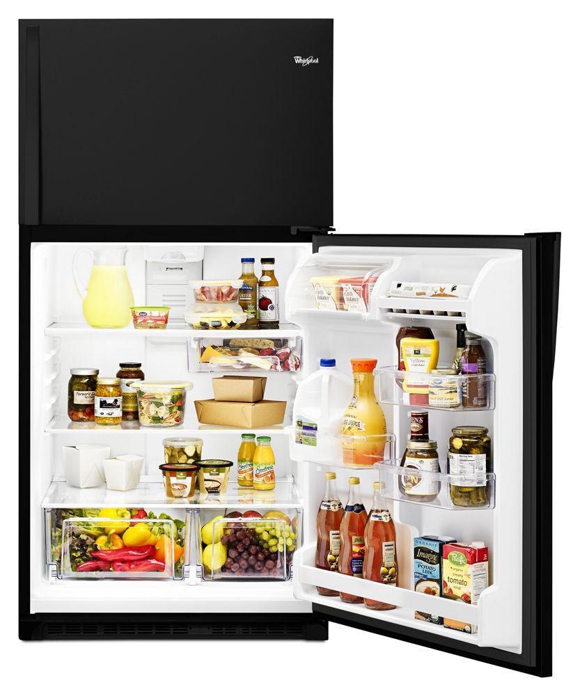 Wrt311fzdb Whirlpool 33 Inch Wide Top Freezer Refrigerator