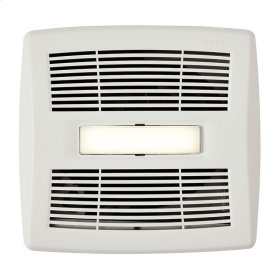 InVent Series Single-Speed Fan With LED Light 110 CFM 1.0 Sones, ENERGY STAR Certified