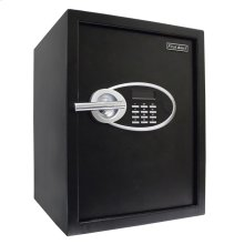 Anti-Theft Safe with Digital Lock, 1.2 Cubic Feet, Black