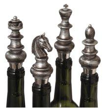 Chess Bottle Stopper (4 asstd)