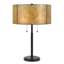 60W X 2 Mica Table Lamp