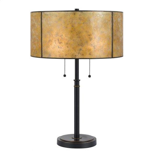 60W X 2 Mica Table Lamp