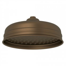 "English Bronze Perrin & Rowe 8"" Rain Showerhead"