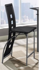 Black Astro Counter Stool Product Image