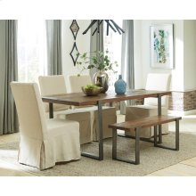 Maverick - Dining Bench - Rustic Saal Finish