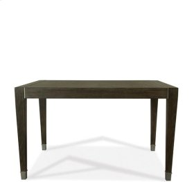 Joelle Gathering Height Dining Table Carbon Gray finish