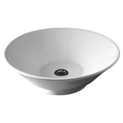 Celerity Above Counter Vessel Sink - White