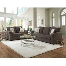 1210 - Surge Gunmetal Sofa