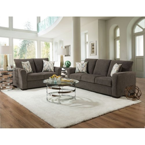 1210 - Surge Honey Sofa