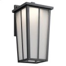 Amber Valley Collection Amber Valley LED Wall Lantern in BKT Product Image