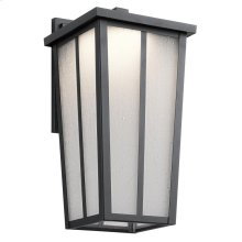 Amber Valley Collection Amber Valley LED Wall Lantern BKT