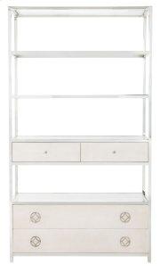Criteria Metal Bookcase in Criteria Pale Ivory (363) Product Image