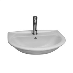 Karla 550 Wall-Hung Basin - White