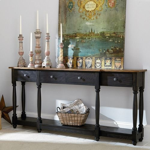 Hidden Treasures Drawer Console