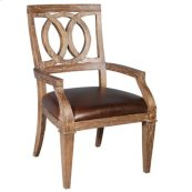 Salone Arm Chair - Leather