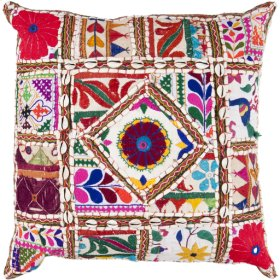 "Karma AR-068 22"" x 22"" Pillow Shell with Polyester Insert"