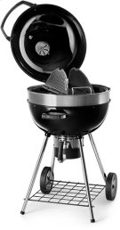 PRO Charcoal Kettle Grill Black Product Image