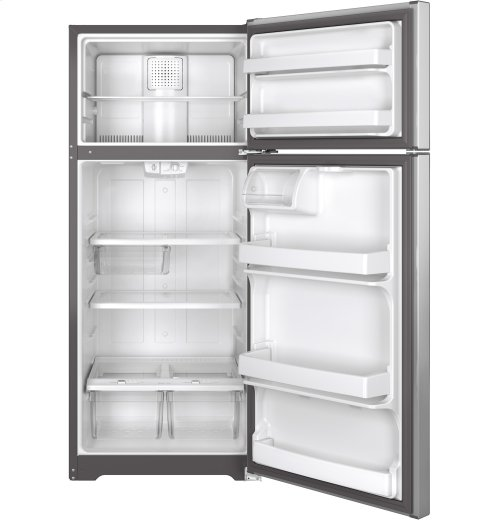 BLEMISH UNIT - GE® 17.5 Cu. Ft. Top-Freezer Refrigerator