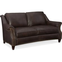 Bradington Young Reinsman Stationary Loveseat 8-Way Tie 638-75