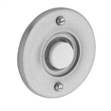 Satin Chrome Round Bell Button