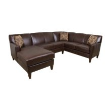 England Lynette Leather Sectional 6200L-Sect