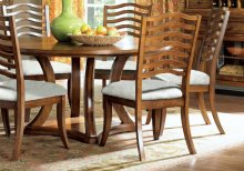 "DINING CHAIR - 2PCS / 41""H / GOLDEN OAK"