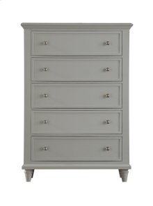Emerald Home Home Decor 5 Drawer Chest-gray B381-05gry