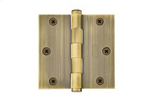 """3-1/2""""x 3-1/2"""" Square Corners Residential Plain Bearing, Solid Brass"""