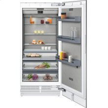 """400 series 400 series refrigeration column With fresh cooling 32 °F Fully integrated Niche width 36"""" (91.4 cm)"""