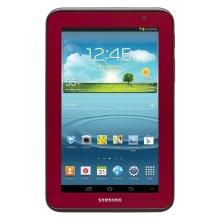 Samsung Galaxy Tab® 2 7.0 (Wi-Fi), Garnet Red