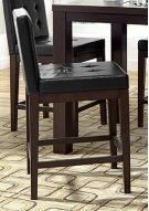 Counter Uph Dining Chair (2 per ctn) - Dark Chocolate Finish Product Image