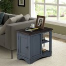 Americana Modern Denim Chairside Table Product Image
