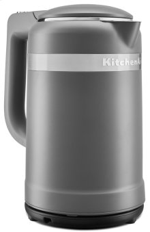 Electric Kettle - Matte Charcoal Grey