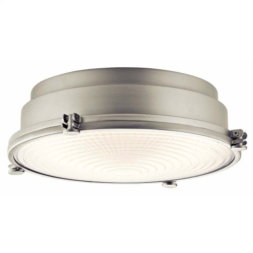 Hatteras Bay Collection Hatteras Bay LED 13in Flush Mount LED NI