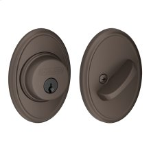 Single Cylinder Deadbolt with Wakefield trim - Oil Rubbed Bronze