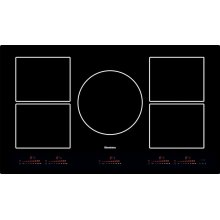 "36"" induction cooktop, 5 burner"