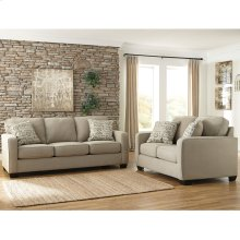 Signature Design by Ashley Alenya Living Room Set in Quartz Microfiber [FSD-1669SET-QTZ-GG]