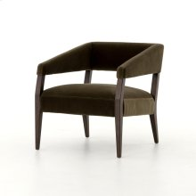 Olive Green Cover Gary Club Chair