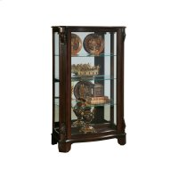 Deep Cherry Mirrored Mantel Curio Product Image