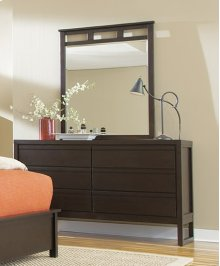 Drawer Dresser - Dark Chocolate Finish