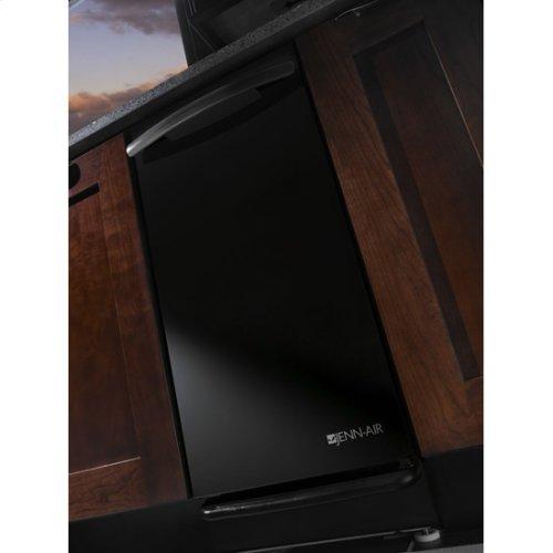 "Jenn-Air® 15 "" Trash Compactor - Black Console/Reversible Panel"