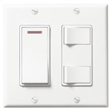 3-Function Control, White, 20 amps, 120V