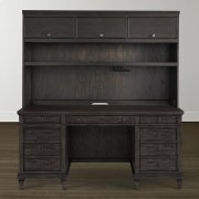 Peppermill Commonwealth Executive Desk with Hutch Product Image