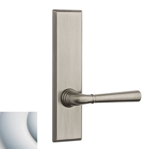 Satin Chrome Traditional L027 Lever Screen Door
