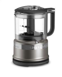 3.5 Cup Food Chopper - Cocoa Silver