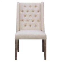 Burnham Rustic Beige Dining Chair
